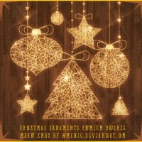 Christmas Ornaments Premium Brushes by Romenig