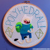 Polyhedral Hoop by loveandasandwich