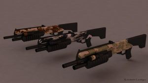Halo 3 Shotgun by KonstantinL