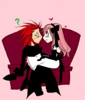 Axel: Wtf? Colored by PianoxLullaby