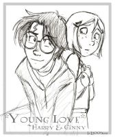Young Love - Harry + Ginny by lberghol