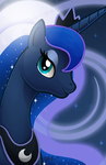 Luna Portrait by ChrisWithATa