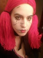 Living Doll Halloween Costume by Brii333
