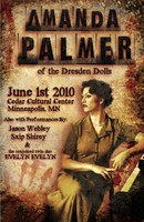 Amanda Palmer Poster by TheScarecrow6