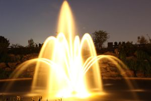 The Fountain of Light by drfarrin