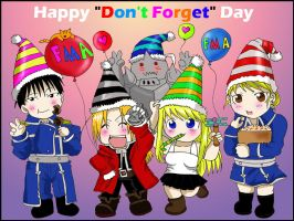 FMA - Don't Forget Day by rose123321123