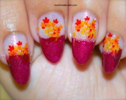 Fall Leaves by Gorgeousnails