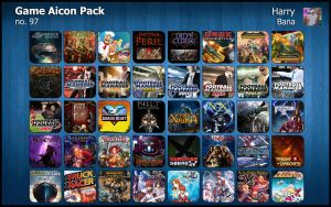 Game Aicon Pack 97 by HarryBana