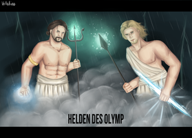 Helden des Olymp by Vollatina