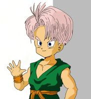 Kid Trunks Colored by ErrGerGer