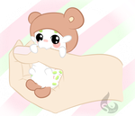 Paca Noms on Hand by Kai-Alive