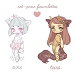 fawnlettes set-price [1 left - reduced price] by oeiI