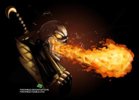 Mortal Kombat - Scorpion by FischHead
