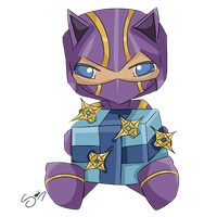 Advent day 6 - LoL - Kennen by enchanted-enigma
