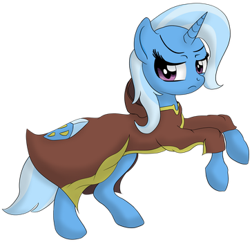 Trixie is not amused by DataPony