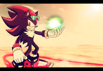 Sonic Riders 2006 - Shadow by Ami-Dark