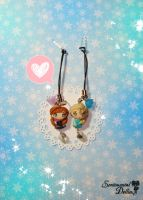 Frozen Sisters Dust Plugs by SentimentalDolliez