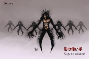 Senka the shadow lord concept for comic/manga by Hamzilla15