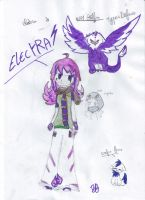NEW  perso electra by lucie45