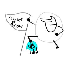 The master of snow by raccoon478