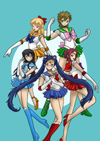 Sailor Free! Crystal by CardcaptorKatara