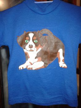 1st puppy T-shirt by FaDemian