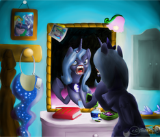 Luna practicing for Season 2 by simpe94