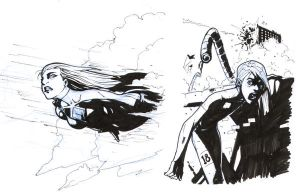 Fun Warm-Up Sketches by RAHeight2002-2012