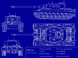 P-26 Lion tank concept by ArkaniWulff