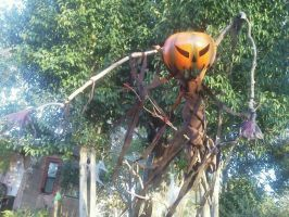 Scarecrow yard prop DIY by Scotimus