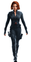 Black Widow PNG/RENDER from Marvel's The Avengers by Joaohbd
