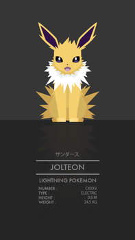 Jolteon by WEAPONIX