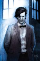 Matt Smith - The 11th Doctor by RodReis