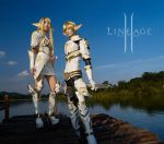 Lineage II Cosplay by peaceb0124