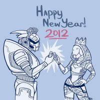 HAPPY NEW YEAR by regeener