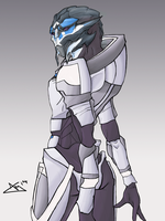 Turian Female V2 by alexee29