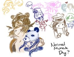 doodle: munak days? by fieryblossoms