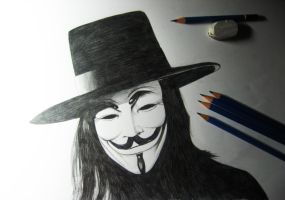 V for Vendetta by Finihous
