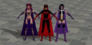 'DC Univerce Online' Pack 1 XPS ONLY!!! by lezisell