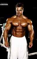 Josh D Muscle Morph 2 by Creeven