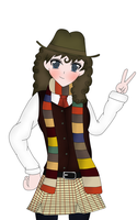 Gender swapped 4th Doctor by soundwave023