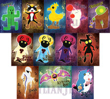 Square Enix Monsters Chibiset - Update2 by HylianJess