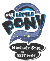 MLP Commission - Midnight Star is Bestpony by MLPBlueRay