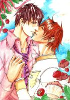 Strawberry Kiss by Ameyama