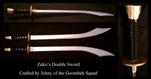 Prince Zuko's Double Swords by Goomba-Squad