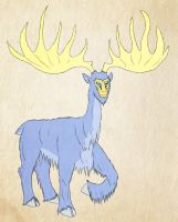 Stag Dude by Azvolrien