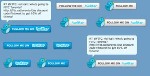 Twitter Button with Status by DXC381