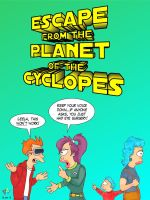 Escape from the Planet of Cyclopes by Gulliver63