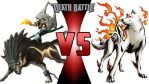 Wolf Link and Midna vs Amaterasu - Death Battle by nightfenyx