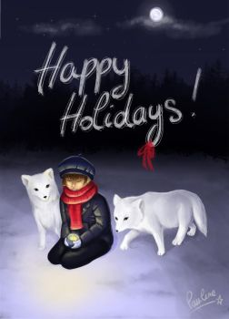 Happy Holidays by WetWhiteKitten